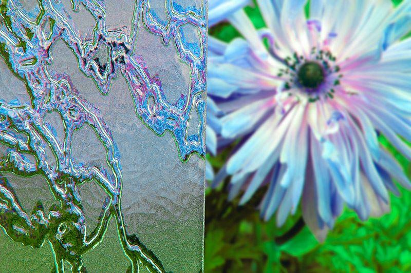decorative ornamental glass delta matt