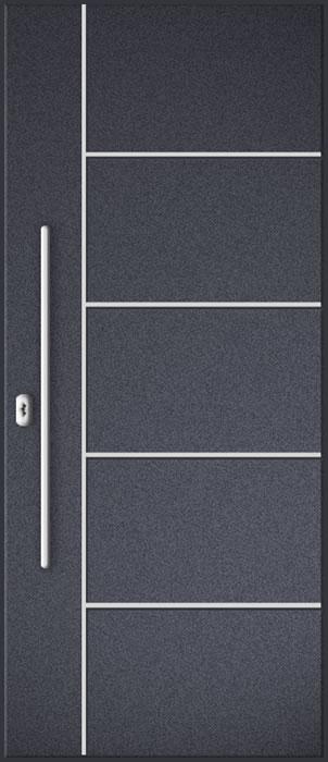 ourwooden door aluminium panel
