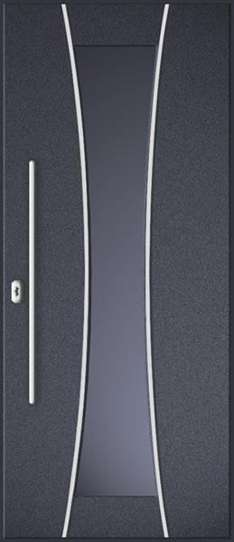 ourwooden door aluminium model