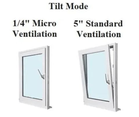 micro ventilation window