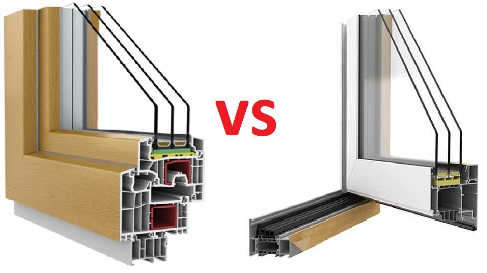 aluminium vs pvc