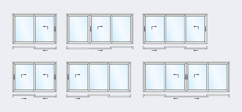 lift and slide door schema