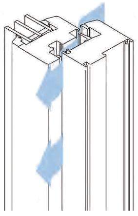 6 mm gap between sash and frame